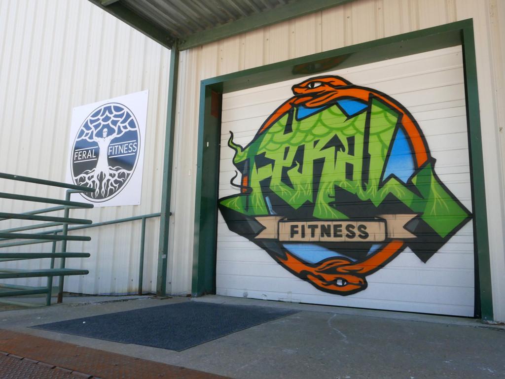 Crossfit graffiti artist