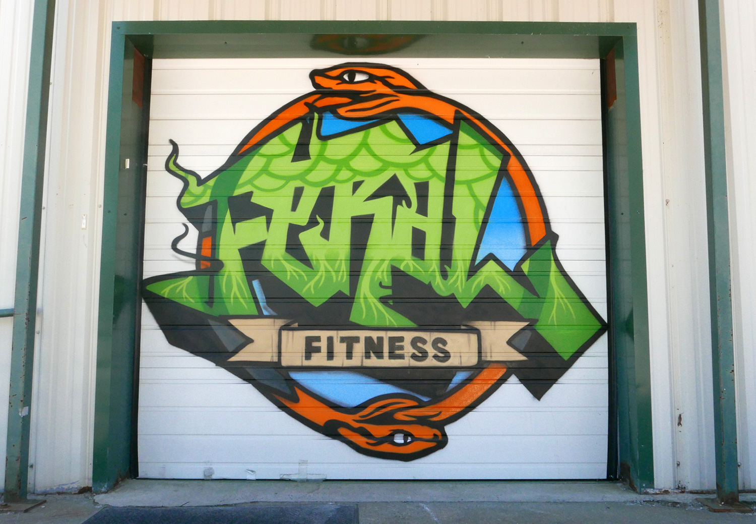 Crossfit Graffiti Artist - Feral Fitness