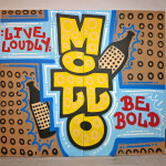 Motto Live Art for Event in Downtown, NY