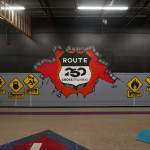 Ohio Crossfit Gym Graffiti Mural Route 250