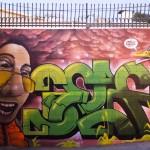 Self Graffiti Character Portrait in Los Angeles