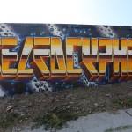 Self & Dcypher Graffiti Letters in LA