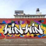 Win Win Graffiti Commercial Lettering in Brooklyn