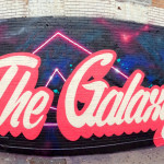 The Galaxy in Queens Graffiti Mural Lettering
