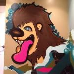 Lion Bedroom Mural in Minneapolis, MN