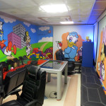 Bronx Graffiti Mural in Hospital by Mike P