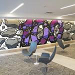 New Jersey Lobby Mural in Matawan