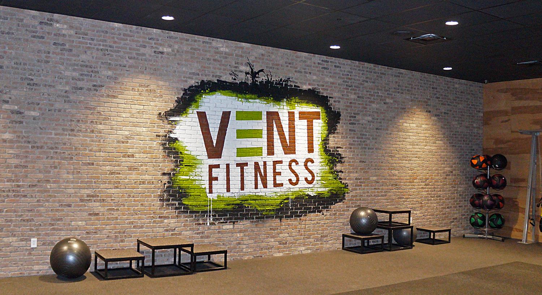 albany vent fitness gym logo art graffiti usa