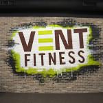 New York Gym Graffiti Mural Logo Art