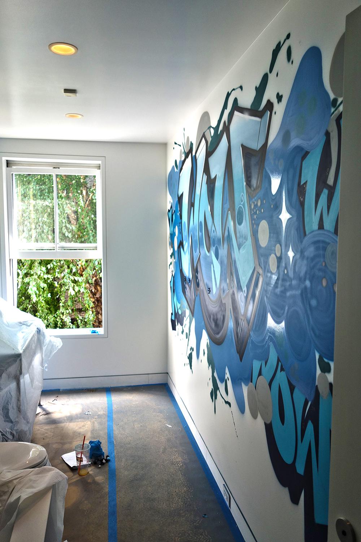 Interior Design Graffiti Art Company