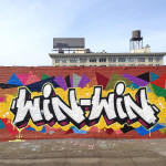 Graffiti on Brooklyn Rooftop for Commercial