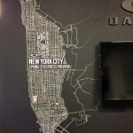 Oakley NYC Chalk Mural in Office