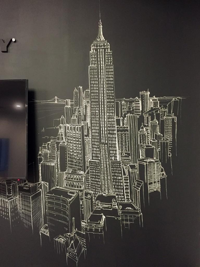 nyc chalk artist