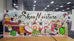 Shea Moisture Live Art During a NY Convention