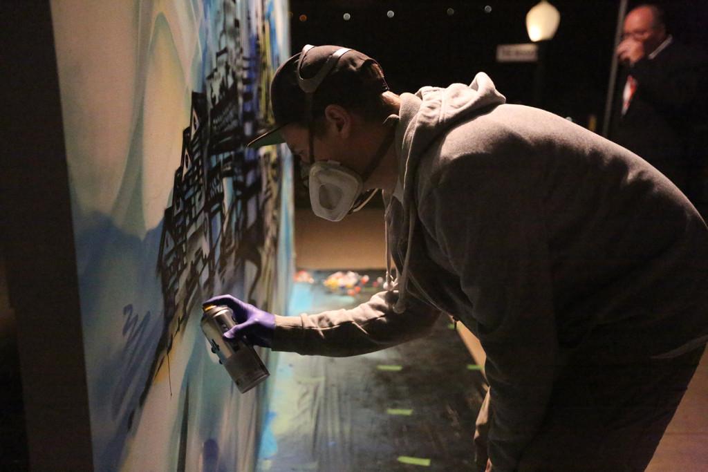 San Francisco Live Graffiti Art