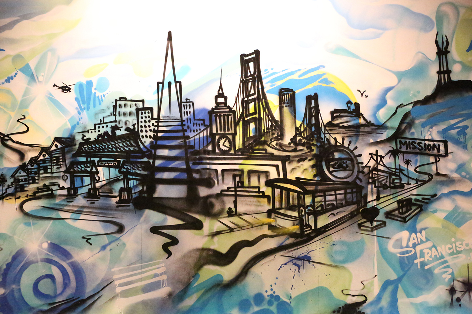 San Francisco Live Art Painting for Event