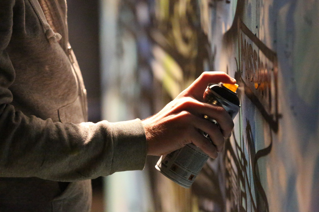 Sausalito California Graffiti Art