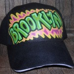 Graffiti Pen Art on Hats for Party