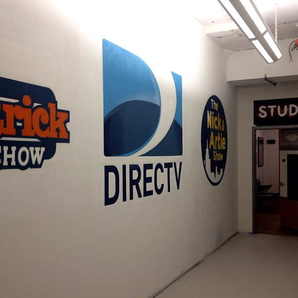 Direct Logo Spray Painted