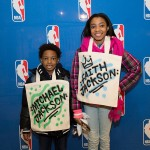 Custom Tote Bag Airbrushing for NBA at Forever 21