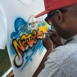 New Balance Live Airbrushing by Wane