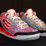 Custom Sneaker Graffiti Art by Mike P