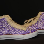 Converse Graffiti on Sneakers for Event
