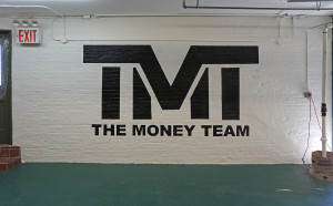 The Money Team Logo - Sign Painting