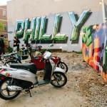 Philly Chrome Metallic Rendering Street Art Mural