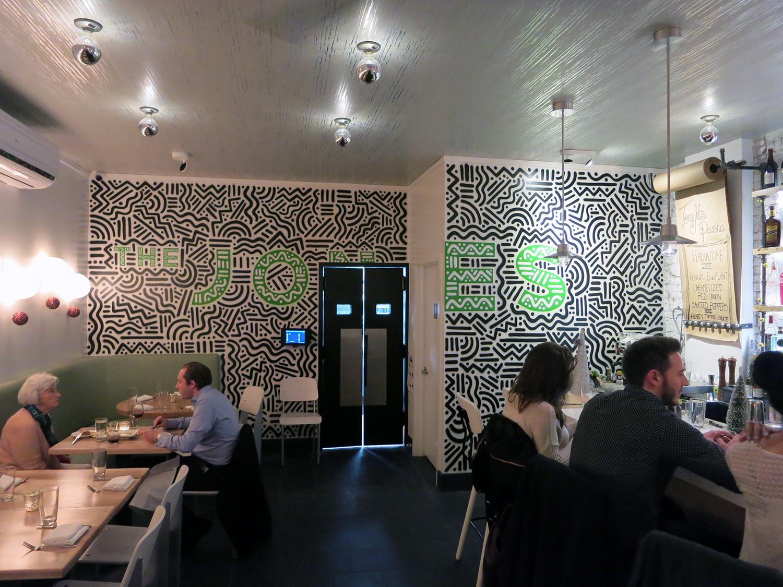 Restaurant Interior Mural