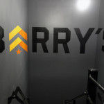 Anamorphic Mural for Barry's Boot Camp Gym in UES