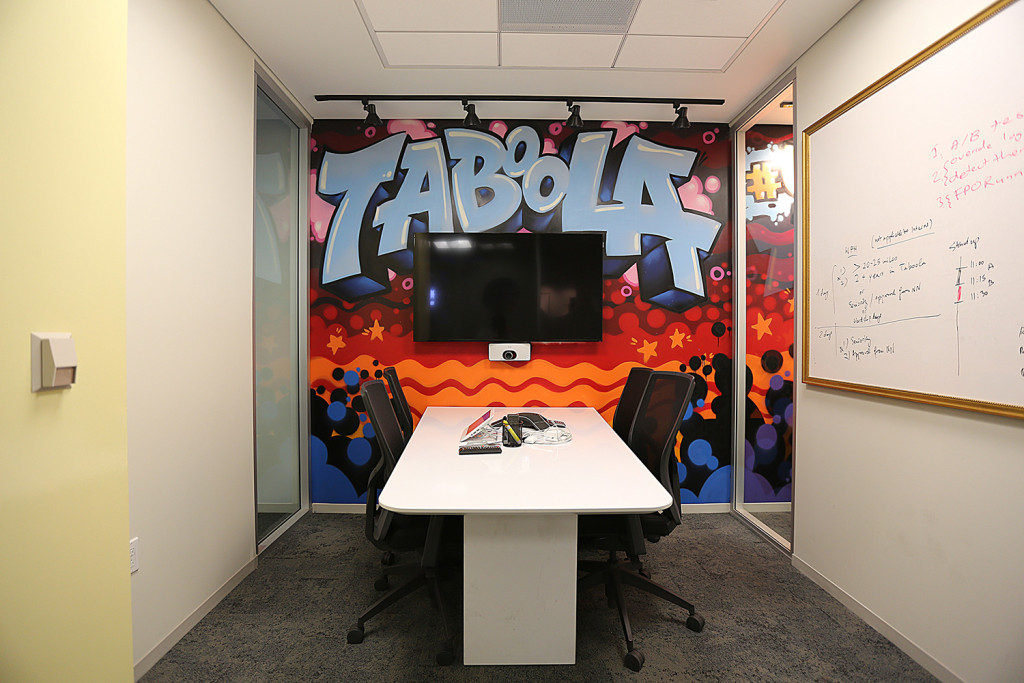 Conference room street art in corporate office graffiti usa for Corporate mural