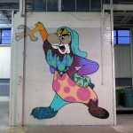 Abstract Cartoon Graffiti in Minnesota
