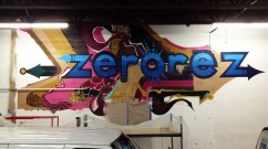 Street Art Mural for Zerorez in Minneapolis MN