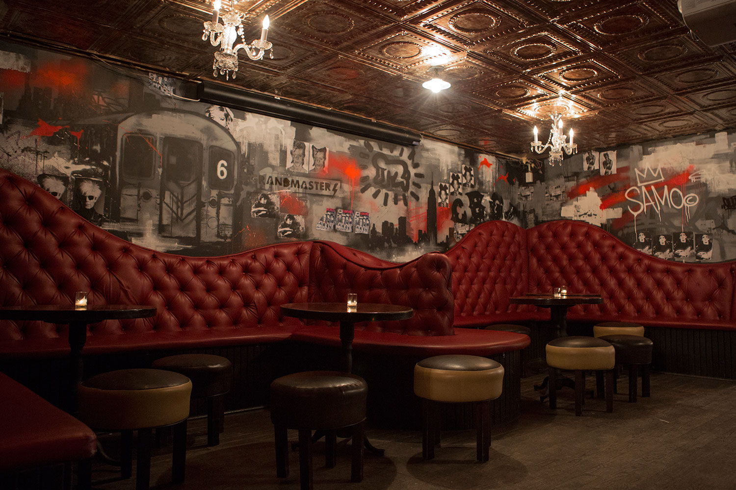 Interior Bar Mural in Soho, NY