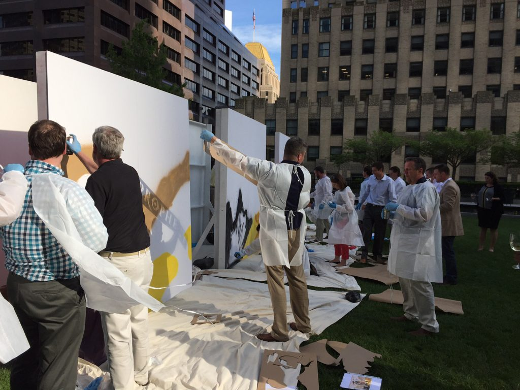 Graffiti Team Building Event Boston