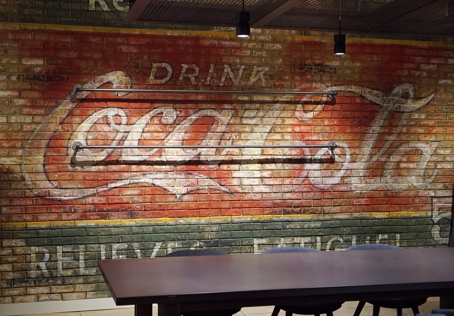 Hand Painted Lettering - Old Coke Ads