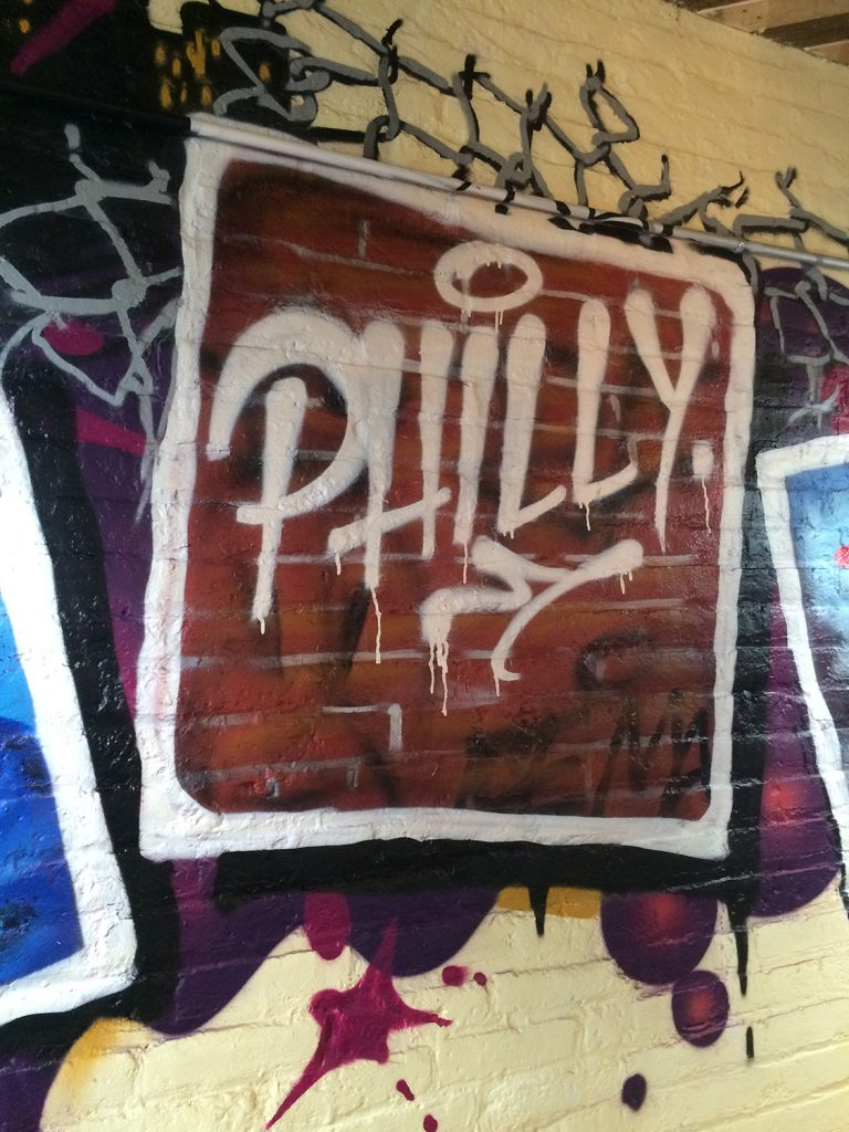philadelphia graffiti artist for hire