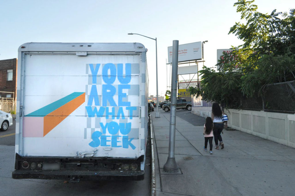 graffiti truck activation