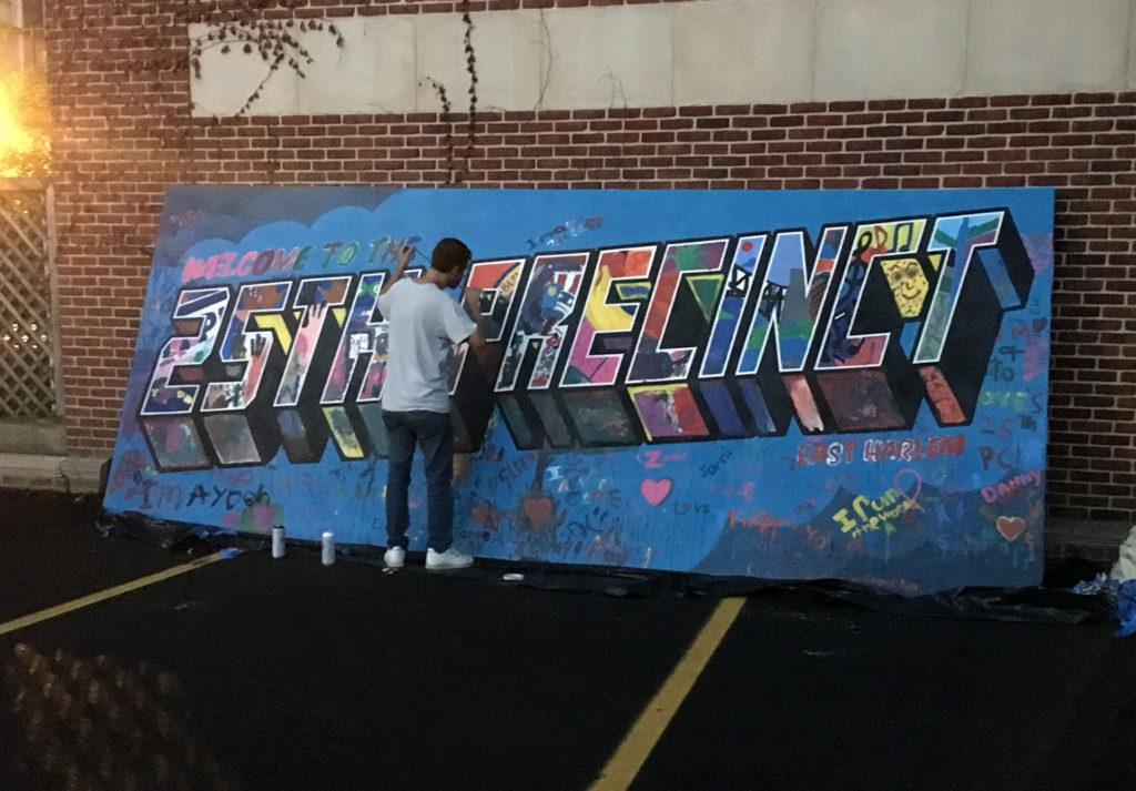 graffiti workshop in harlem, ny
