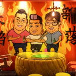Cartoon of Owners at Flushing Chinese Food Restaurant