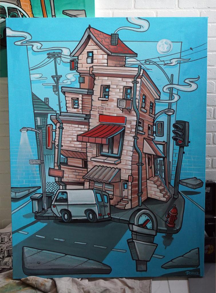 dtla live street art