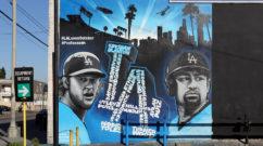Famous LA Graffiti Artist Mural