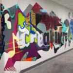 Hotel Street Art Installation in Minneapolis
