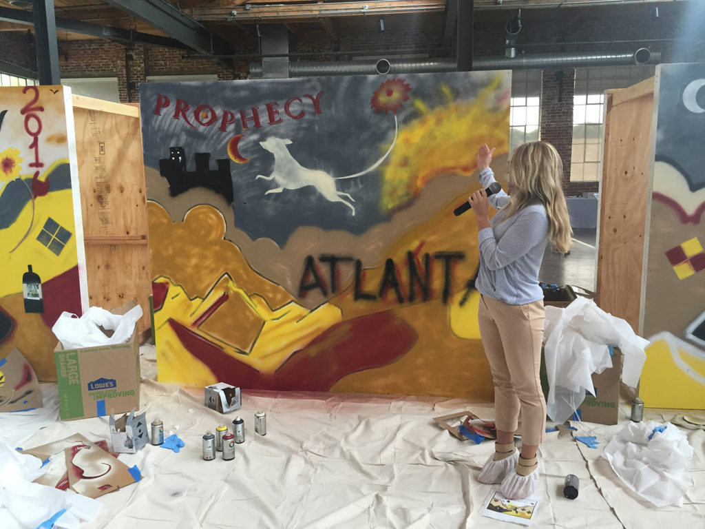 Team Building Workshop Ideas - Atlanta, GA Graffiti