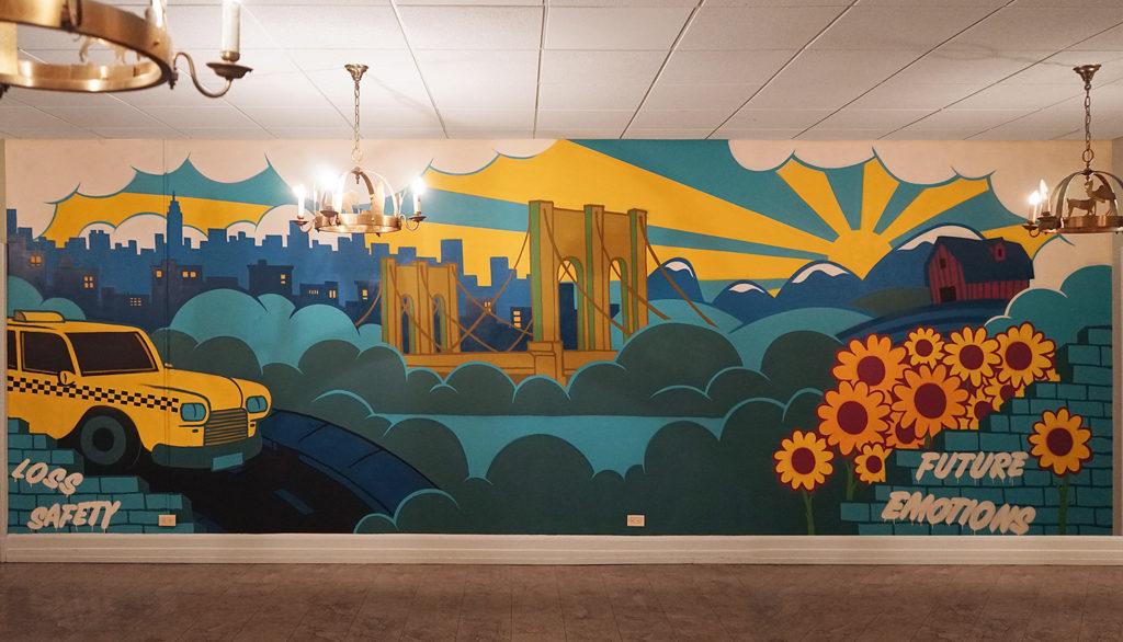 bronx school mural