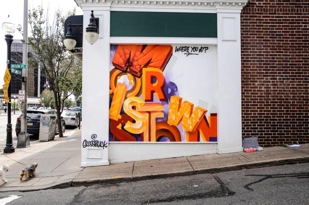 Local Mural Artist Campaign- NJ Street Artist