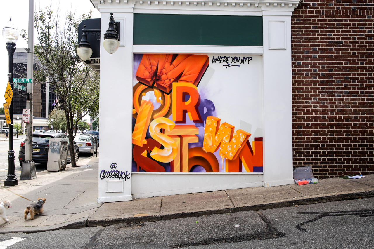 Morristown Graffiti Mural by Glossblack for Boost