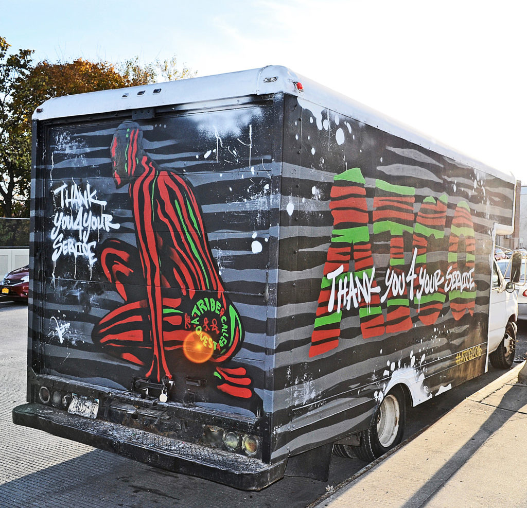 Truck Graffiti by Stae2 for ATCQ
