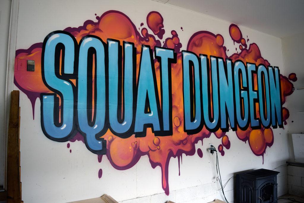 NJ Inspirational Mural for Home Gym